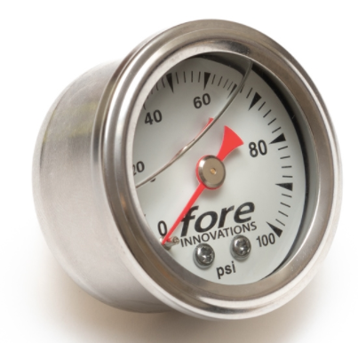 Fore Innovations® (05-20) Mopar V8 Mechanical Fuel Pressure Gauge (1-100psi)