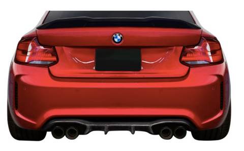 Carbon Creations® (16-20) M2 F87 Agent Style Carbon Fiber Rear Diffuser