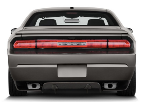 Carbon Creations® (08-14) Challenger Circuit Style Fiberglass Rear Diffuser