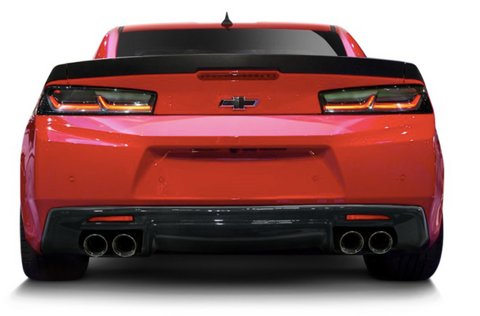 Carbon Creations® (16-18) Camaro GM-X Style 1-Piece Diffuser with Quad Exhaust Cutout