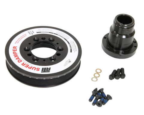ATI Performance® GM LS1/LS2 Super Damper™ Harmonic Serpentine Damper Aluminum Shell Assembly Without AC Pulley