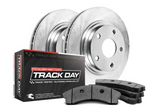 Power Stop® (16-21) ZL1 Track Day Plain Front Brake Kit