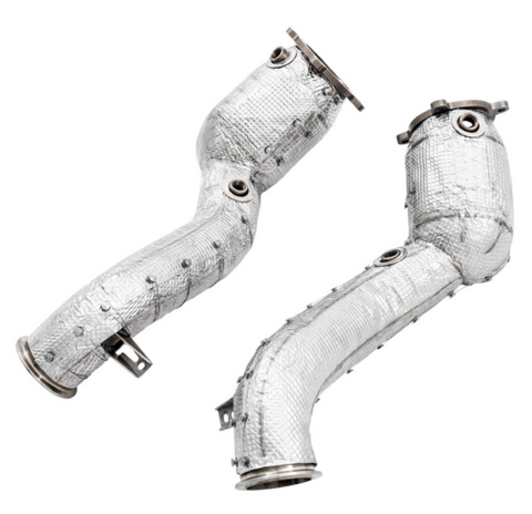 Awe Tuning® (17-21) 720S 304SS HJS 200 Cell Catted Downpipes