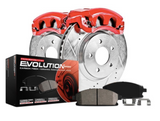 Power Stop® (05-21) Mopar SRT 1-Click Z23 Evolution Sport Rear Brake Kit with Powder Coated Calipers (4/6-Piston Front Calipers)