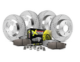 Power Stop® K6794-26 - Front/Rear Drilled and Slotted Performance Brake Kit