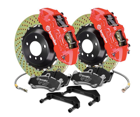 Brembo® (14-20) BMW M4 GT Series Cross Drilled 2-Piece Rotor Big Brake Kit