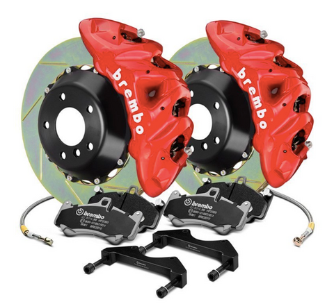 Brembo® (11-20) Cherokee SRT GT Series Slotted 2-Piece Rotor Big Brake Kit
