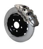 Wilwood® 140-15231-N  Road Race GT Slotted Rotor AERO6 Caliper Front Brake Kit