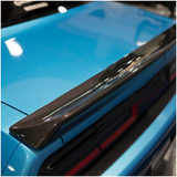 Anderson Composites® (15-20) Challenger OE-Style Carbon Fiber Rear Lip Spoiler with Wicker Bill