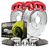 Power Stop® KC1383-26 - Z26 Street Warrior Brake Kit w/ Calipers