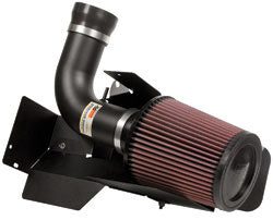 K & N ® 69 Series Typhoon® Cold Air Intake w/ Red Filter - 69-9756TFK