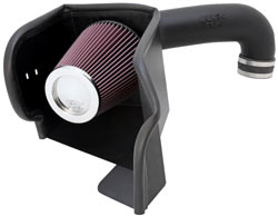 K&N ® 63-1561 - 63 Series AirCharger® Cold Air Intake w/ Red Filter