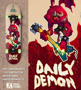 Daily Demon Skateboard Deck