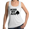 Kiss my Ace Womens Singlet