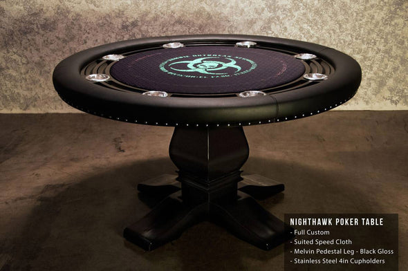 The Nighthawk Poker table 55""