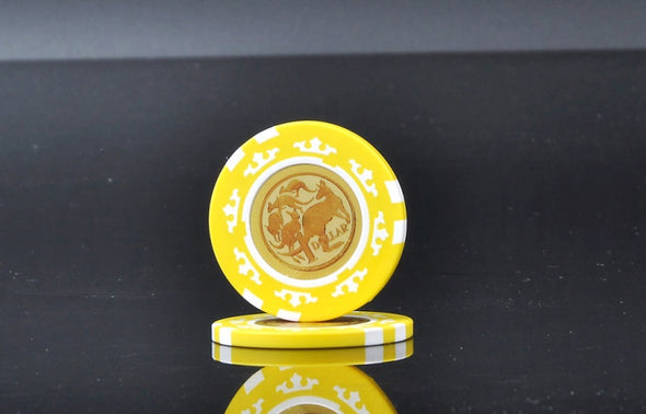 Roll of 50 - 50 cents Aust Currency Poker Chips