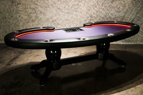 The Lumen HD LED Poker Table