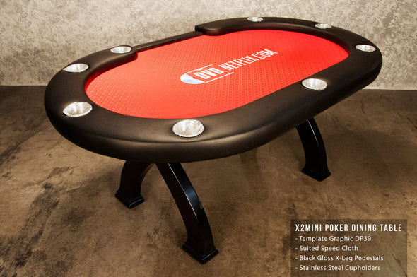 X2 Mini Poker Table + Dining Table