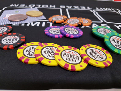 1000pce Tournament Poker 13.5g Chip set