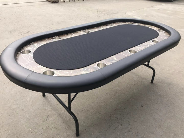 "90"" Faux Marble Poker Table V2"