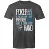 Poker is like Sex T-Shirt