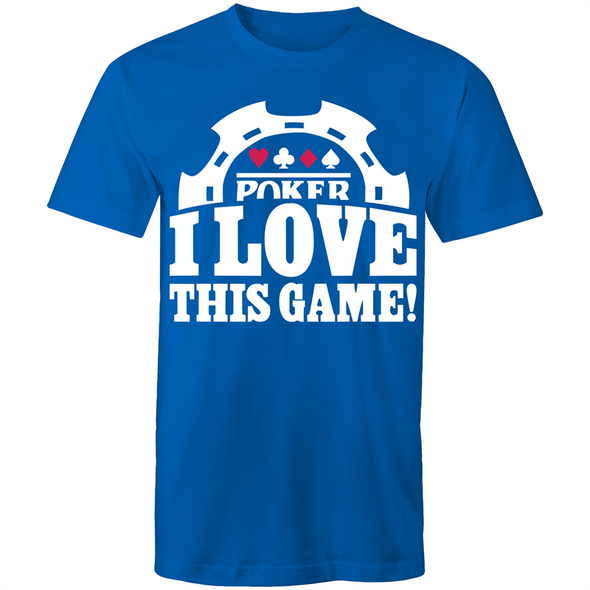 Poker, I love this Game T-Shirt