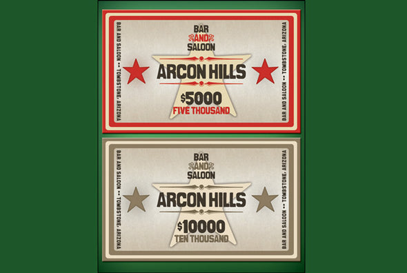 500 x ARCON HILLS Ceramic 10g chips