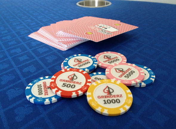 500 x Custom Personalised Poker Chips