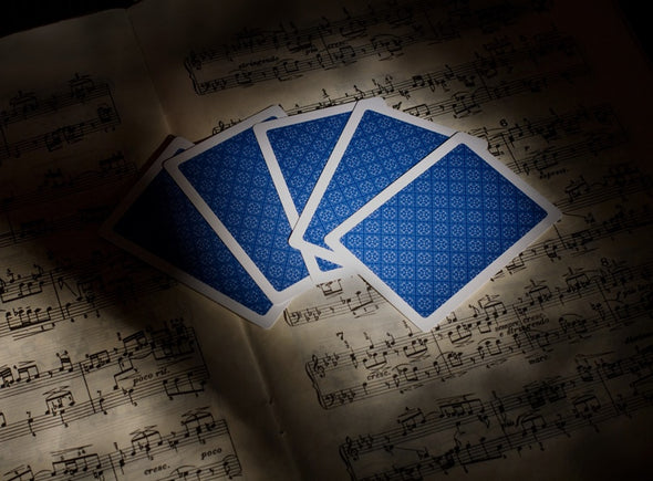 "King ""Classic"" Playing cards single deck Blue"