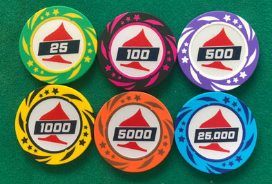 300pce EPT Poker 13.5g Chip set