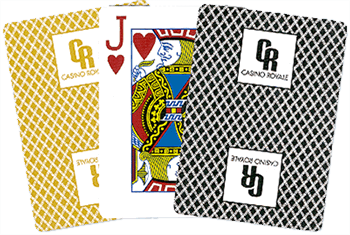 1000 x Custom 100% Plastic Playing cards