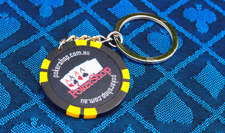 2 x Poker Chip keyrings