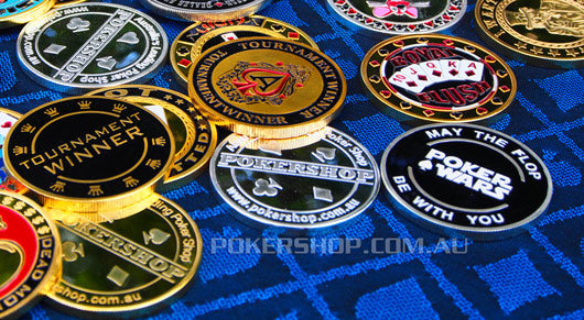 Gold Poker Card Guard - POKER WARS