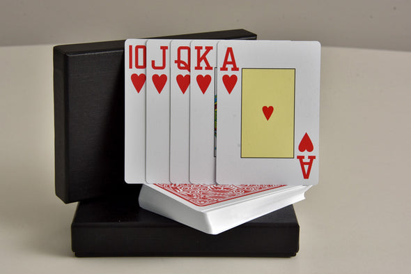KING Playing cards Medieval 2 Pack 100% Plastic (Poker/Jumbo)