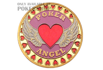 Gold Poker Card Guard - POKER ANGEL