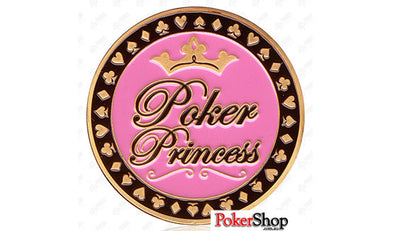 Gold Poker Card Guard - Poker Princess