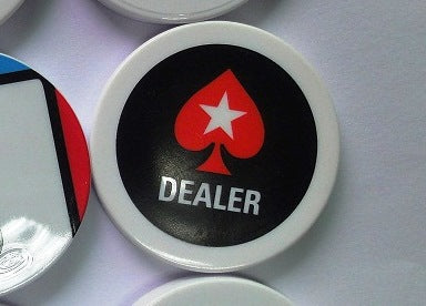 Poker Stars Dealer Button