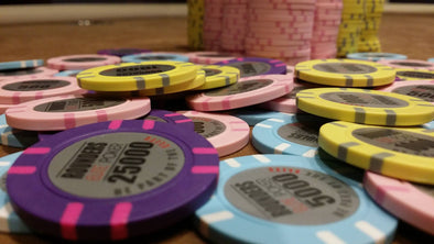 300 x Custom Personalised Poker Chips