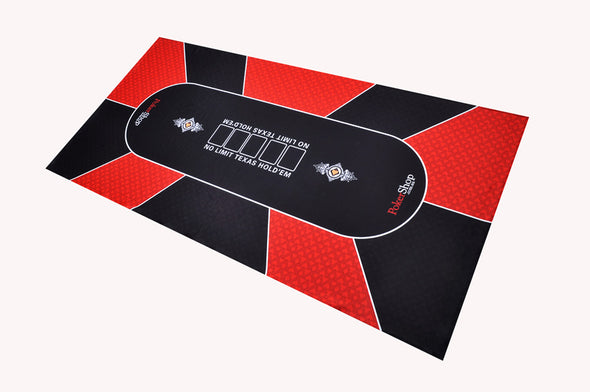 Texas Holdem Poker Felt RED