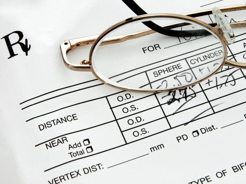 How to Read an Eyeglass Prescription