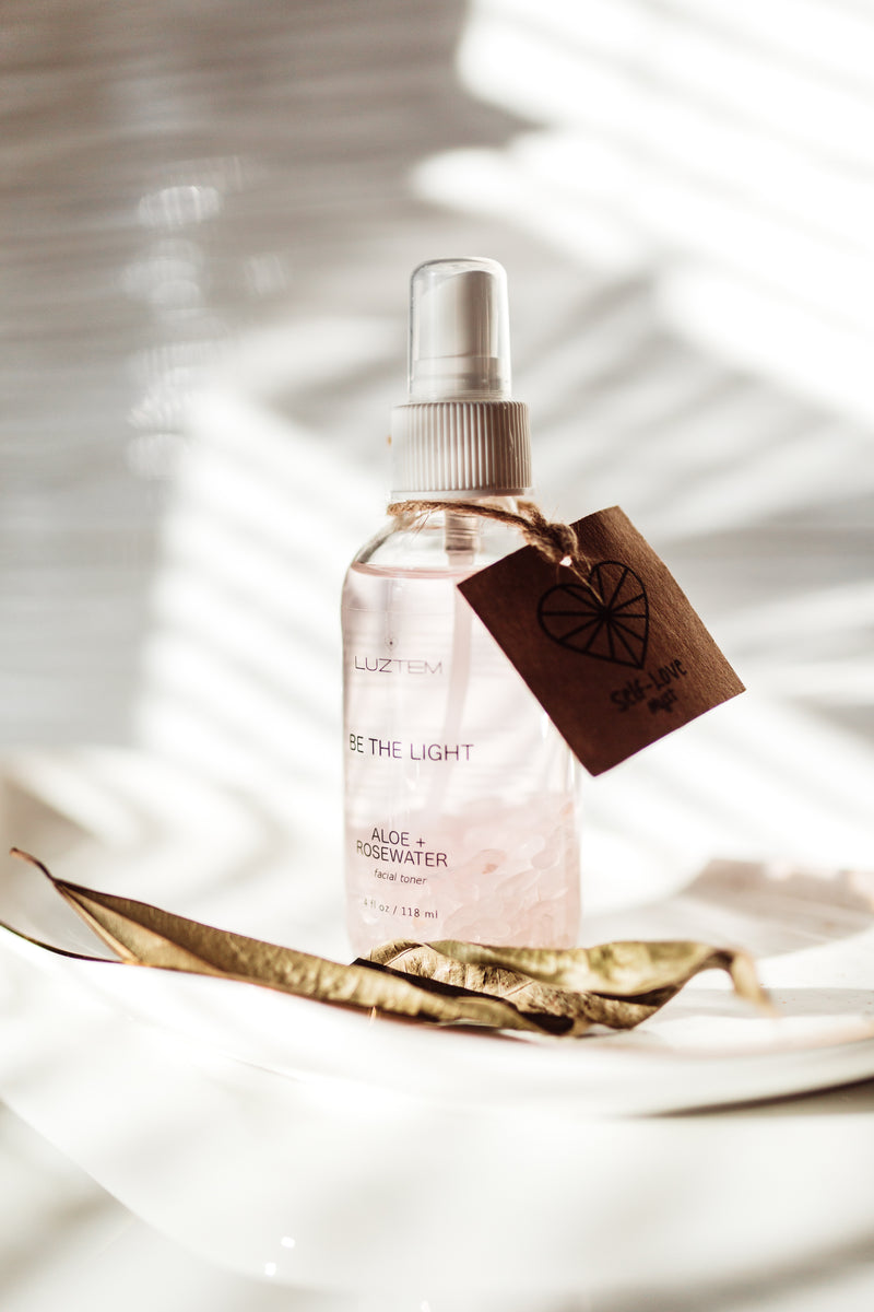 Be the Light ALOE+ROSEWATER facial toner