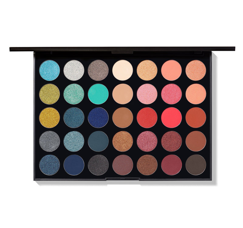 Morphe México - 35H Hot Spot Artistry Palette | Beauty Box Mérida