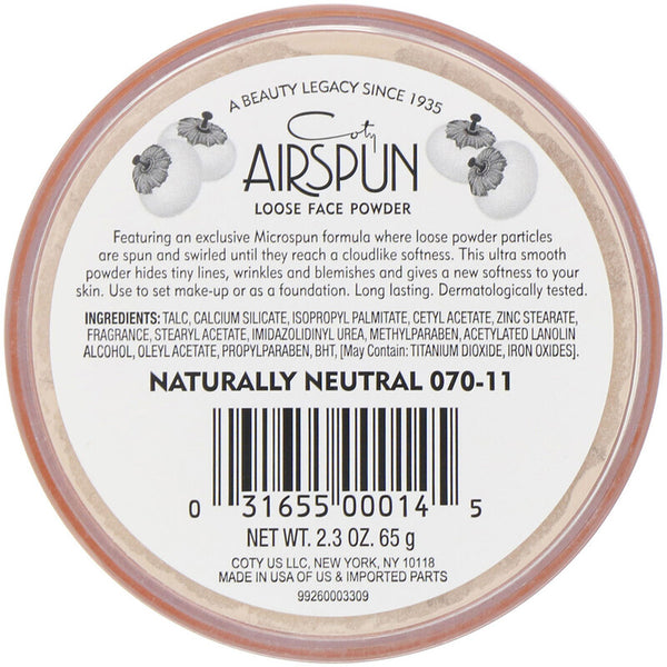AirSpun Loose Face Powder