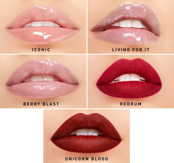 MORPHE X JEFFREE STAR ICONIC BOLDS LIP COLLECTION - Beauty Box Mérida