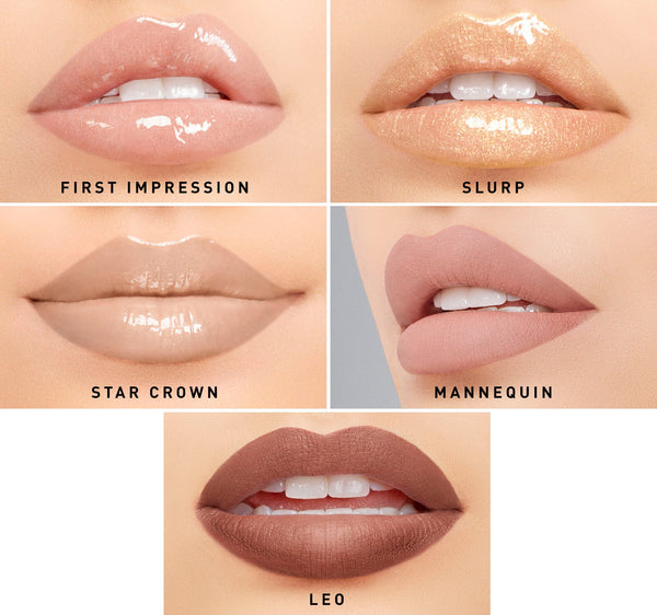 MORPHE X JEFFREE STAR ICONIC NUDES LIP COLLECTION - Beauty Box Mérida