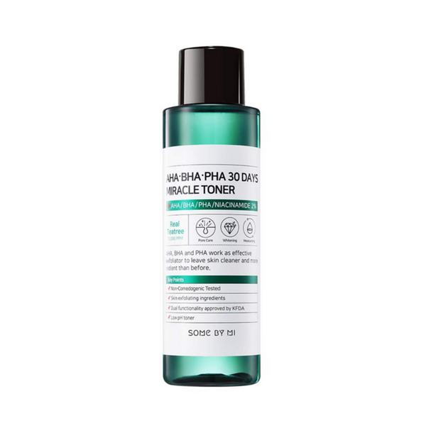 Some By Mi México - AHA, BHA, PHA 30 Days Miracle Toner | Beauty Box Mérida