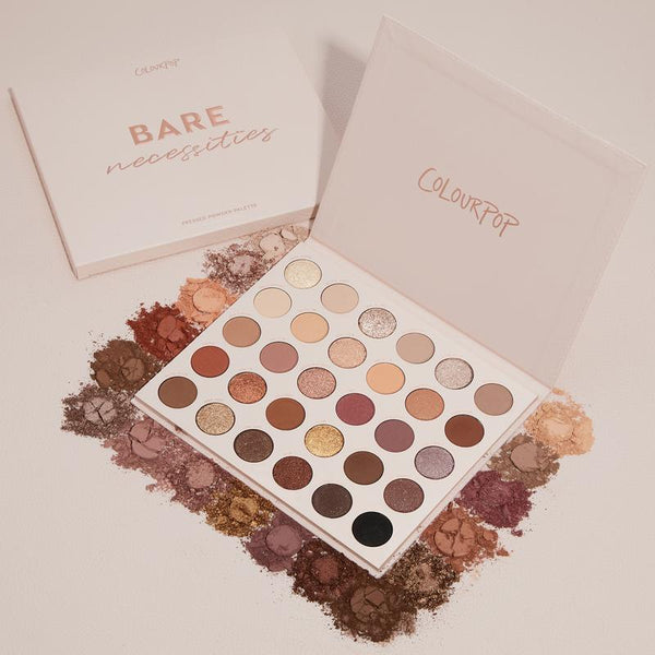 Colourpop México - Bare Necessities Palette | Beauty Box Mérida