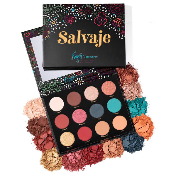 Colourpop México - Salvaje Palette | Beauty Box Mérida