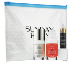SUNDAY RILEY Power Trio: Lactic Acid + Retinol + Vitamin C Bundle - Beauty Box Mérida