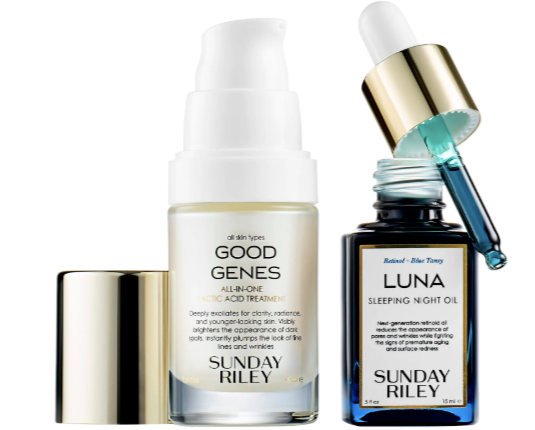 SUNDAY RILEY Power Couple: Lactic Acid and Retinol Kit - Beauty Box Mérida